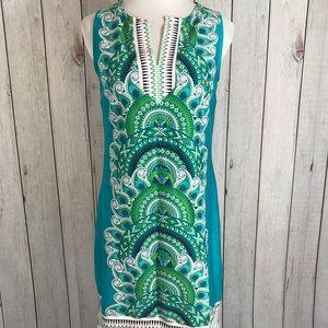 New York & Company Sleeveless Boho Style Dress